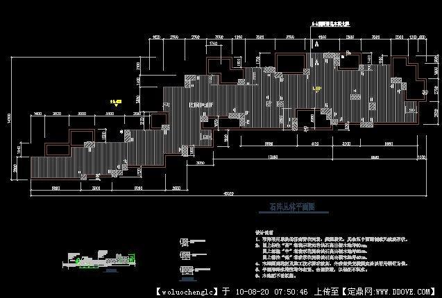 表格置石CAD施工图详解cad怎么假山设置里精度图片
