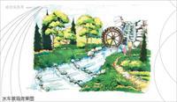 居住区/居住区景观规划图片集锦/05水车效果副本.jpg