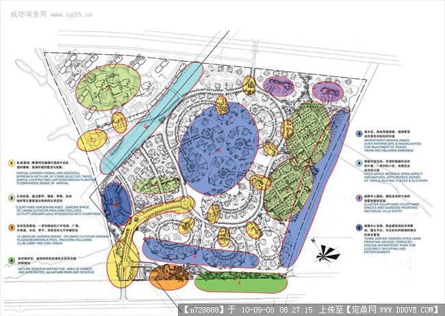 园林功能分区图图片 私人会所功能分区,功能分区图