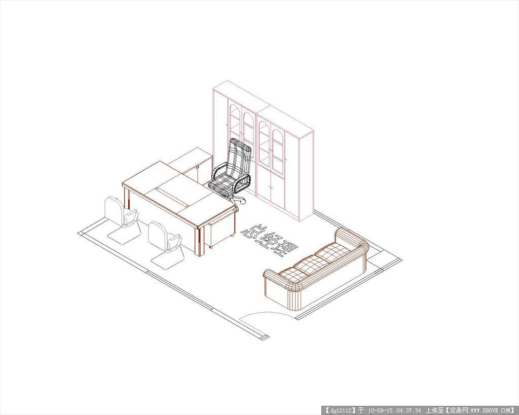 北京现代4S店CAD三维设计数据cad图纸提取样板文件图片