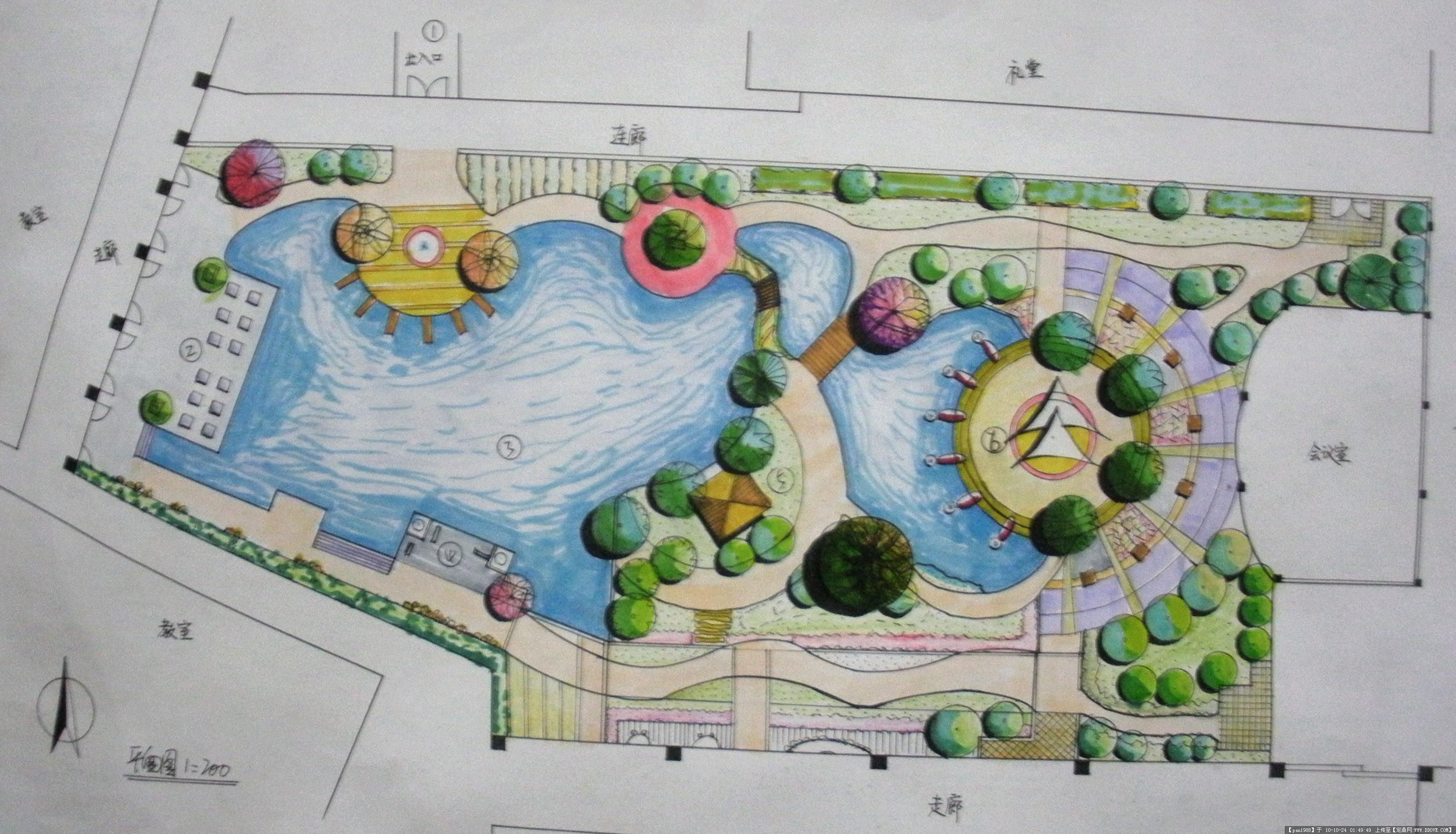 的图片浏览,园林效果图,居 区,园林景观设计施工图纸资料下载
