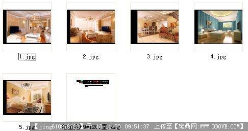 考试作业--图纸室内设计CAD住宅+效果图cad干宏嘛图片