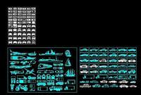 效果图 汽车 cad/汽车、轮船、飞机CAD大全...