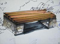 景观小品平面手绘_景观小品手绘效果图,景观小品手绘图片_1