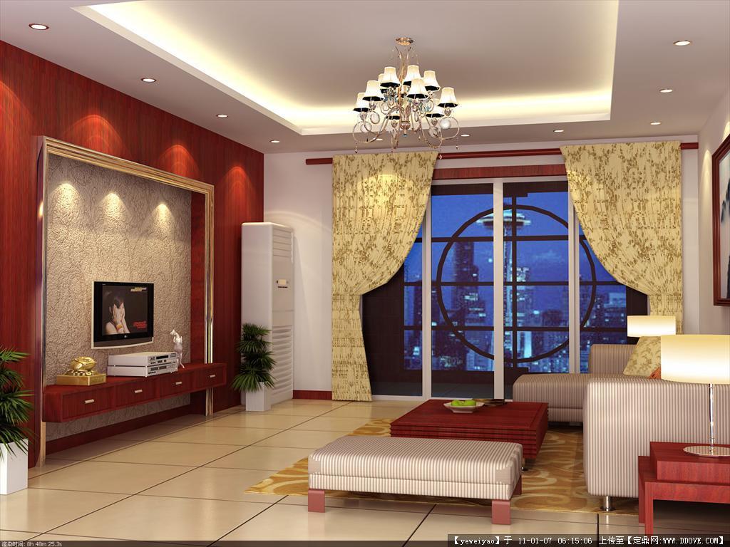 住宅室内设计图 含有cad平面