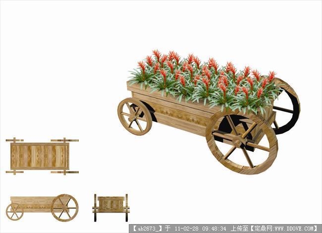 节日花坛设计效果图