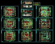影剧院建筑方案图纸