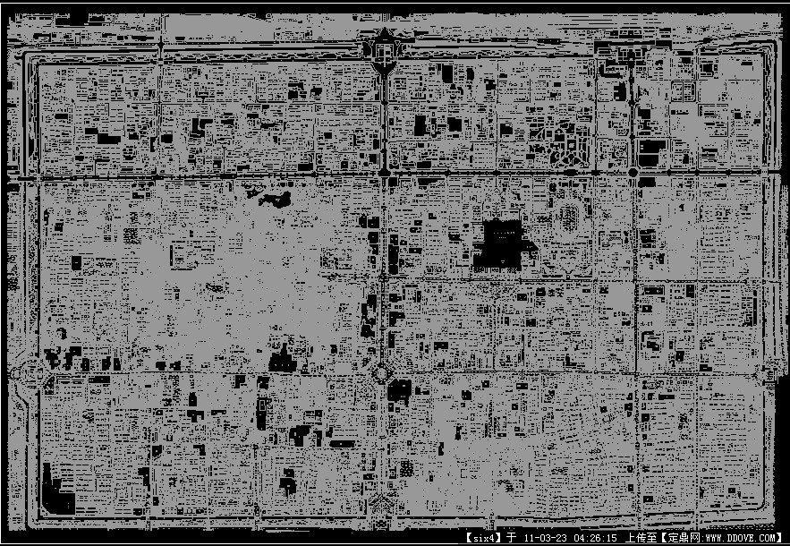 西安图集内CAD图纸总平西安一环钢梯城墙cad版图片