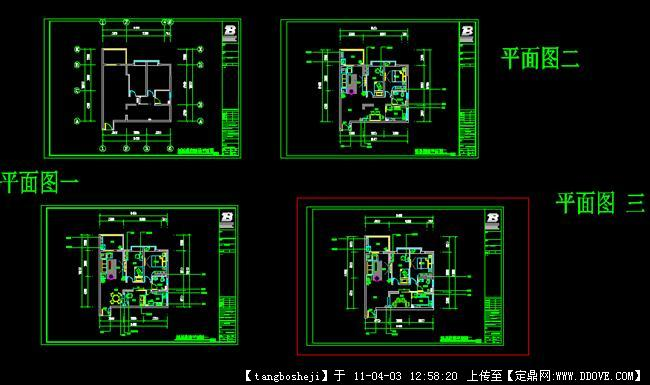 平面豪庭福星面积填充CAD图()cad图案住宅布置图片