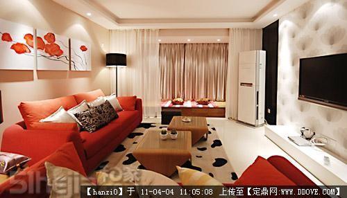 90后室内装饰效果图,90平方室内装修效果图,90室内装修效果