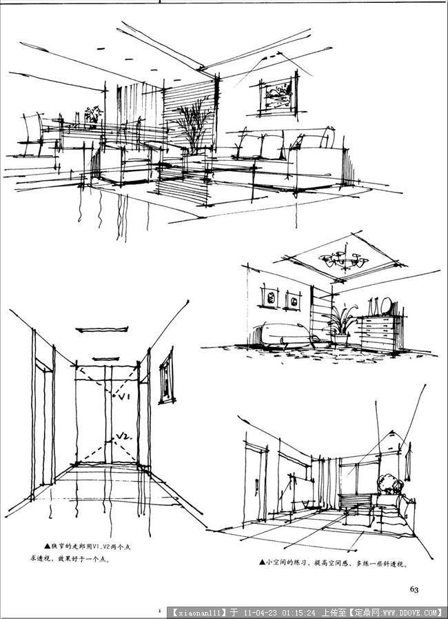 装修设计绘图软件,火锅店装修手绘图,室内装修设计手绘图,装