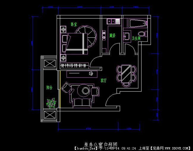 cad平面户型图图片 施工平面布置图 cad图,cad户型图基础 650*510