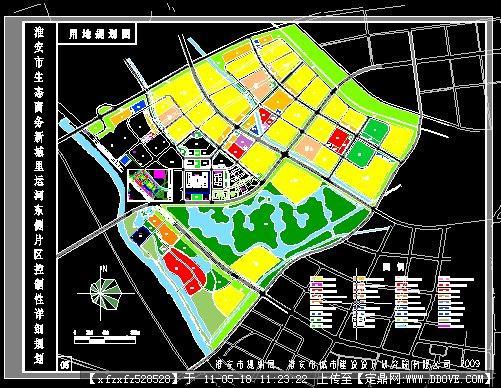 图纸博物馆规划图CADcad打断全城市后乱图片