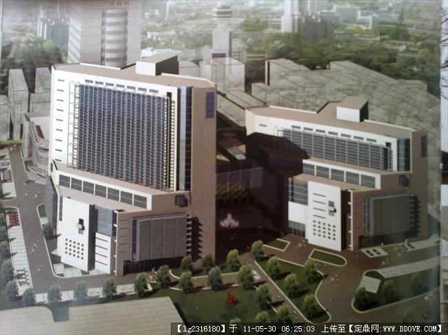 医院病房楼效果图的图片浏览,建筑效果图,公共