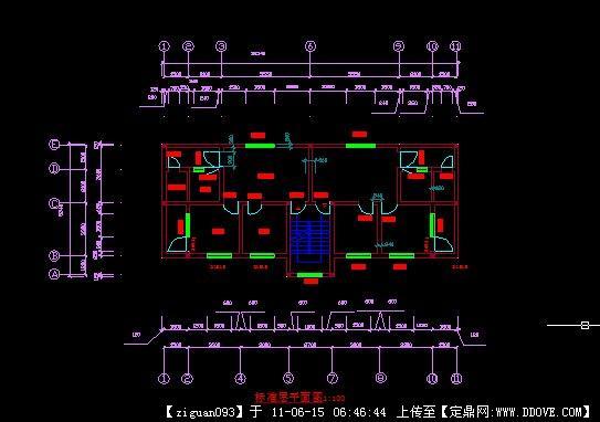 单元平面图_恒大绿洲恒大绿洲51楼13单元平面图户型图