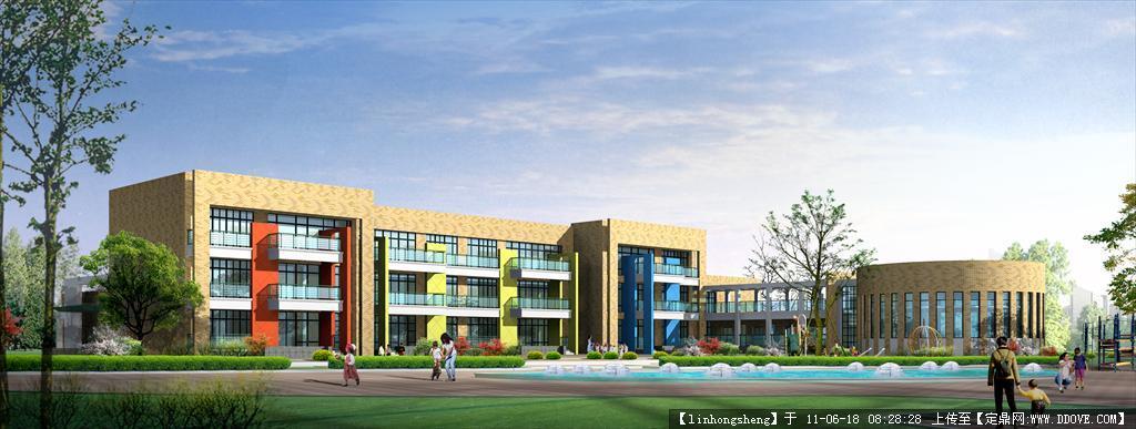 幼儿园建筑设计方案cad的下载
