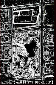 城市公园设计平面图 cad city