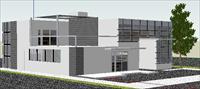 别墅设计skp模型
